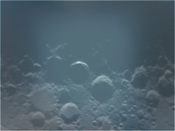 A daytime capture of the Lunar X. (Photo by Author).