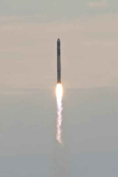 SpaceX CRS-2 Launch on March 1, 2013. Credit: John O'Connor/nasatech