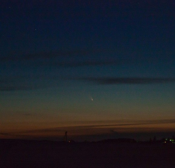 A first capture of Comet PAN