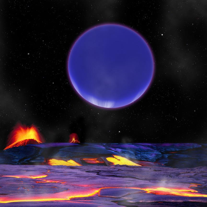 exoplanet landscape orbiting giant planet - photo #26