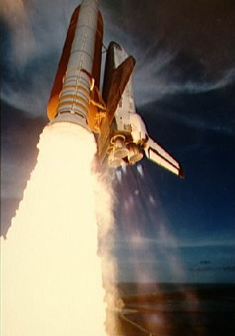 STS-51F aborted to orbit during its launch. Credit: NASA