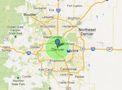 J0348+0432 could easily fit within the confines of most American cities, including Denver, Colo. Want to see how big J0348+0432 is compared to your city? Check out this map tool. Zoom into or search for your city, enter 10 km into the radius distance field, and click on a point on the map.)