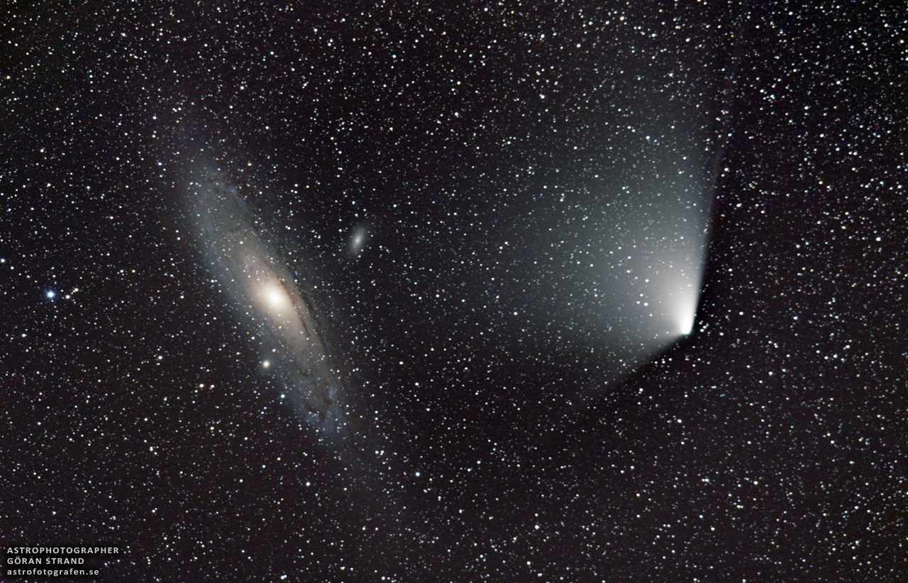 the andromeda galaxy in the winter - photo #16