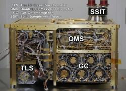 Curiosity's SAM instrument (NASA/JPL-Caltech)