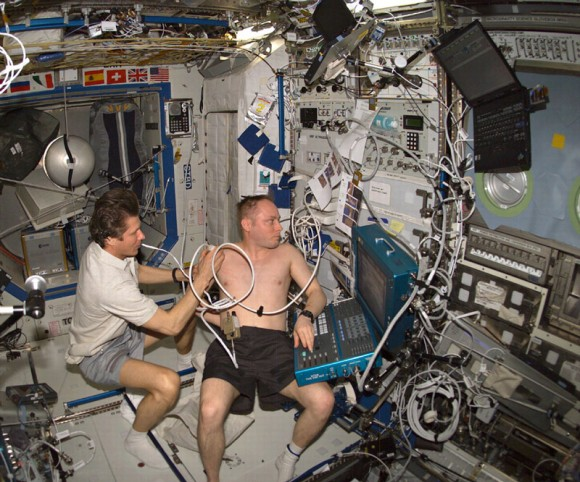Making medical diagnoses aboard Space Station can be a tricky business (Image: NASA)