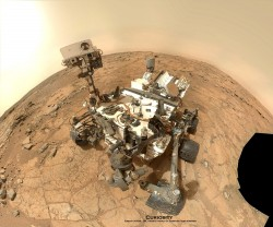 Curiosity Rover snapped this self portrait mosaic
