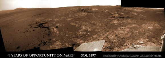 Opportunity rover discovered phyllosilicate clay minerals and calciu