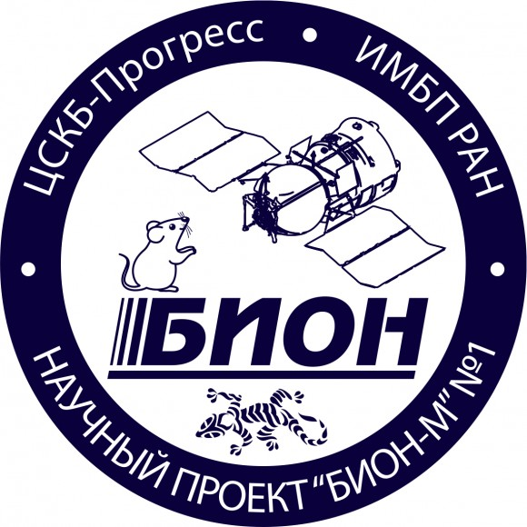 Bion-M's mission patch. Credit: NASA
