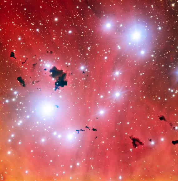 A new view of the spectacular stellar nursery IC 2944 (ESO)