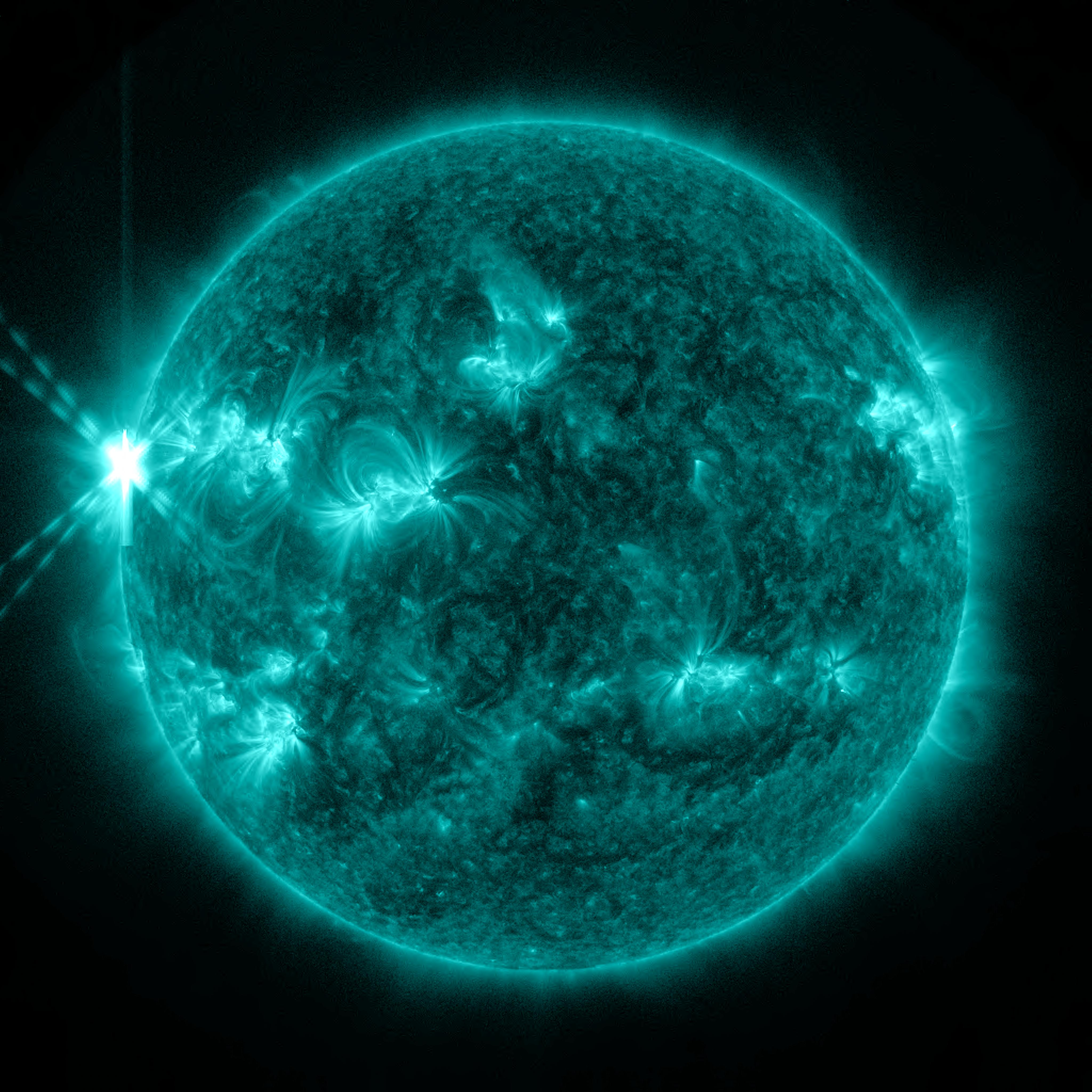 The Sun Blasts Out Two X-Class Flares, Strongest of the Year