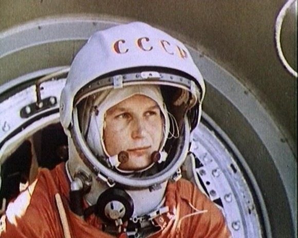 Soviet Cosmonaut Valentina Tereshkova was the first woman launched