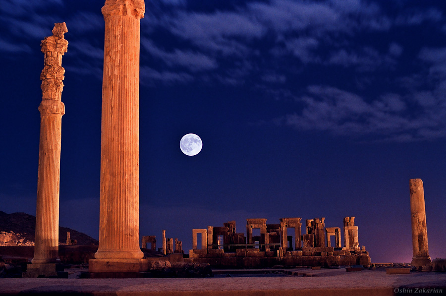 The UNESCO World Heritage Site of Persopolis, Iran (image credit: Oshin D. Zakarian/TWAN).