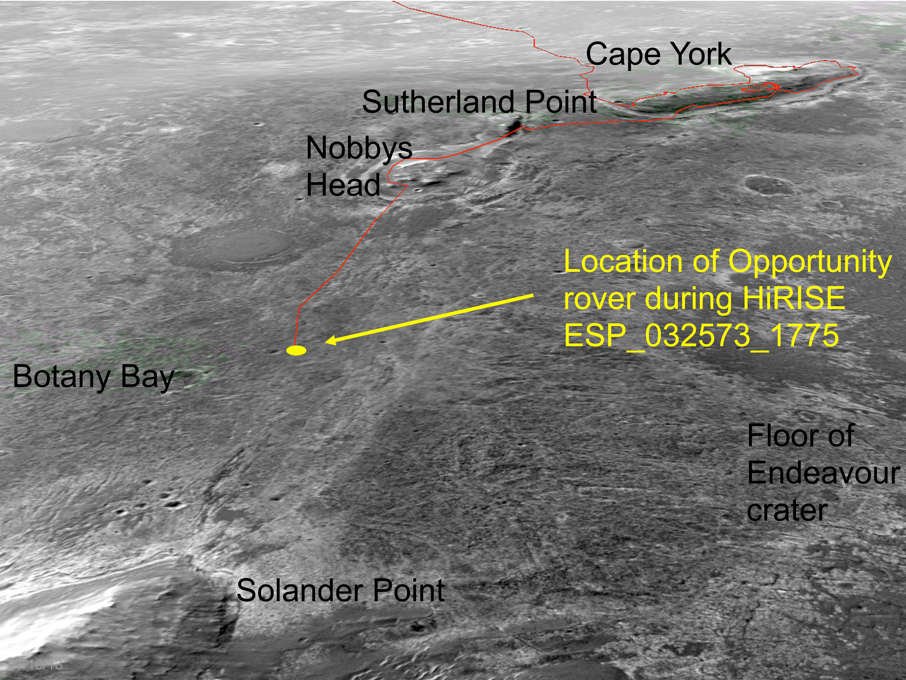 mars rover opportunity current location -#main