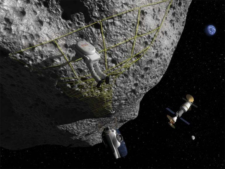 asteroid landing today -#main