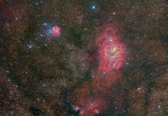 lagoon trifid nebula - photo #38