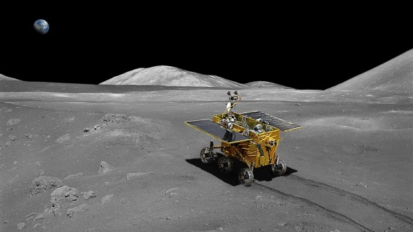 Chinese 'Jade Rabbit' Rover Aims For The Moon On Sunday