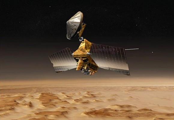 Artist's conception of NASA's Mars Reconnaissance Orbiter. Credit: NASA/JPL