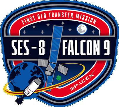 SES- 8 Falcon 9