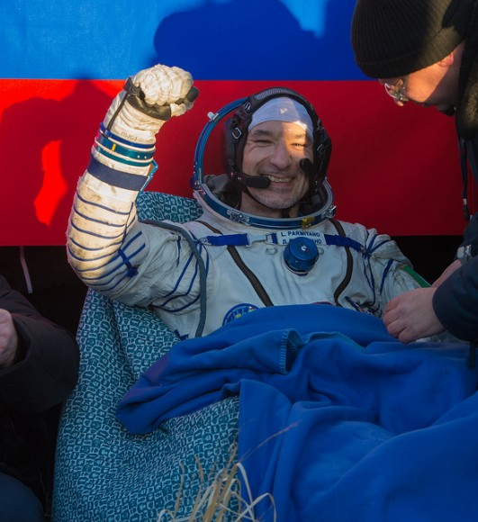 Spacesuit Leak And Fist Pumps: Ride Along With Astronaut's Eventful Space Station Mission