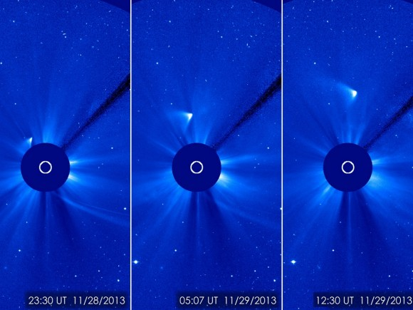 Zombie ISON 'Behaving Like A Comet', Stunned Astronomers Say
