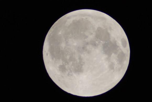 The December 2010 Solstice Moon.