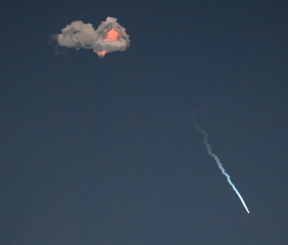 SpaceX Falcon 9 rocket with SES-8 communications satellite soars to orbit.  Credit: Ken Kremer/kenkremer.com