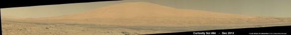 Curiosity Celebrates 500 Sols on Mars on Jan. 1, 2014.  NASA's Curiosity rover snaps fabul