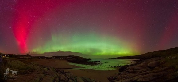 A gorgeous image of the Aurora Borealis seen near Donegal, Ireland on Feb. 27, 2014. Credit and copyright: Rita Wilson Photography.