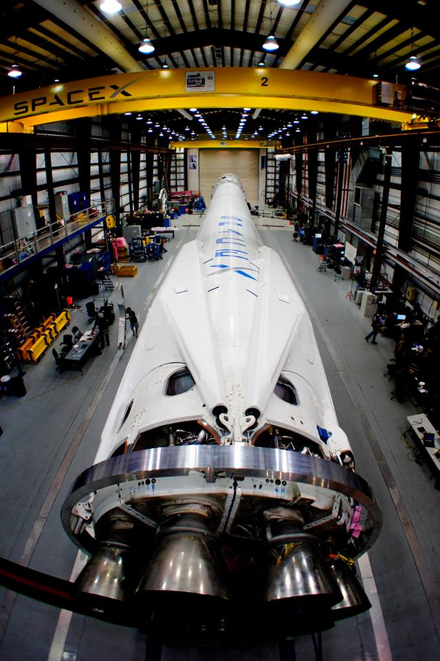 SpaceX Unveils Gorgeous Rocket Legs for Space Station Launch on March ...