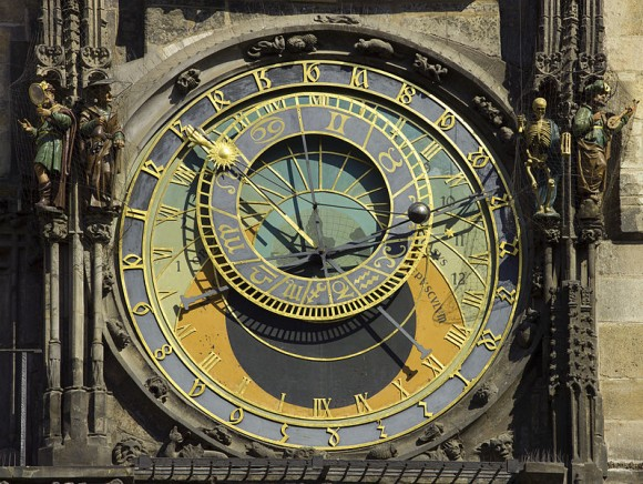 The tricky business of keeping time... the Astronomical Clock in Prague, Czech Republic.