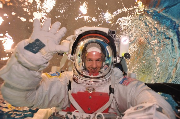European Space Agency astronaut Alex Gerst during training prior to Expedition 40/41 in 2014. Credit: European Space Agency