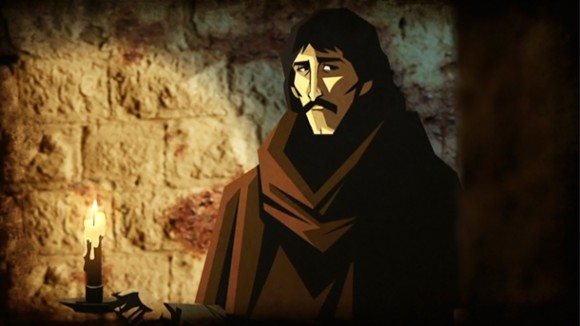 Giordano Bruno in Cosmos. Image courtesy of Fox.