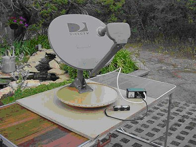 Repurposing a TV Dish for amatuater astronomy. Credit: NSF/NRAO/Assoc. Universities, Inc.