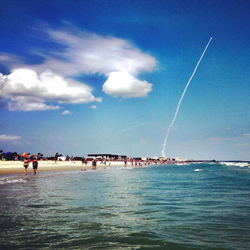 Port Canaveral Florida: Super Secret Spy Satellite Soars Spectacularly To Space