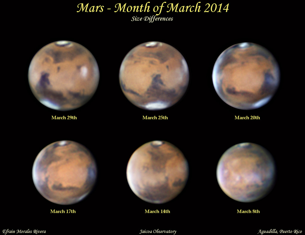 moon location during mars opposition - photo #27