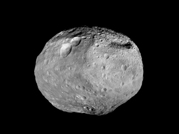 Mosaic synthesizes some of the best views the spacecraft had of the giant asteroid Vesta. Dawn studied Vesta. The towering mountai