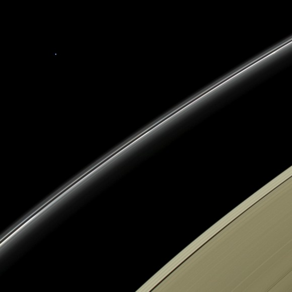 Uranus as seen by Cassini on July 19, 2013 (NASA/JPL-Caltech/SSI)