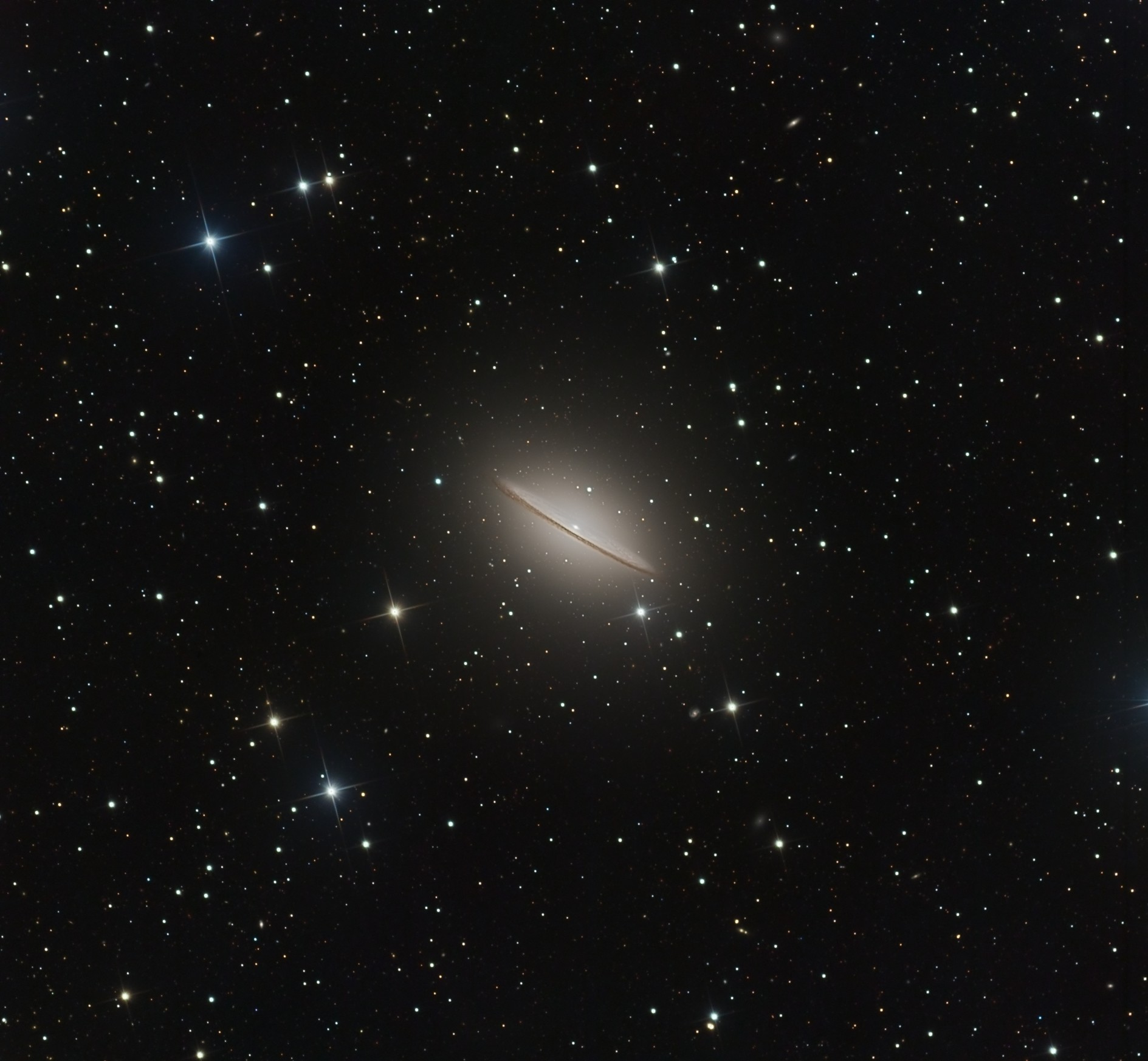 Astrophoto Awesome Views Of A Sombrero In Space