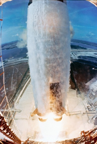 The Saturn V rocket bearing Apollo 11 lifts off from the Kennedy Space Center on July 16, 1969. Credit: NASA