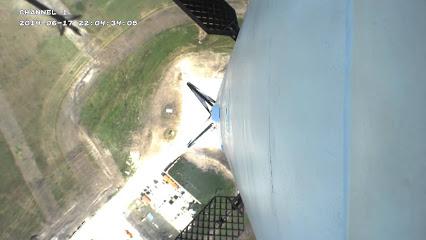 Screenshot of a June 2014 F9R test flight.