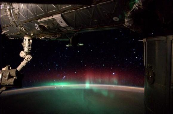 The Aurora Borealis seen from the International Space Station on June 28, 2014, taken by astronaut Reid Wiseman. Credit: Reid Wiseman/NASA.