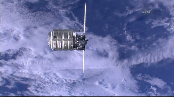 Orbital Sciences' Cygnus cargo craft