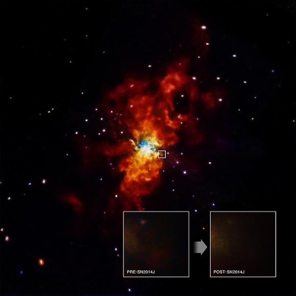 What Sparked Star Explosion 2014J? NASA Telescope Seeks Clues