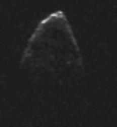 Image of asteroid 1950 DA. Credit: NASA
