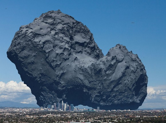What Comets, Parking Lots and Charcoal Have in Common
