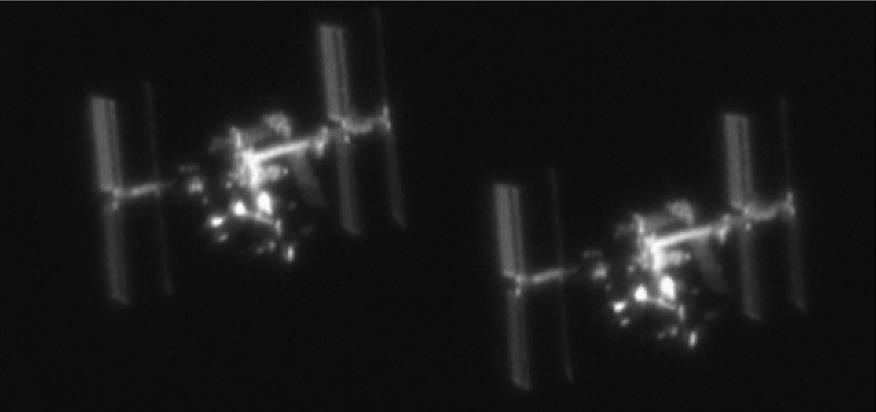 Amazing Telescopic Pictures Of The Space Station And A ...