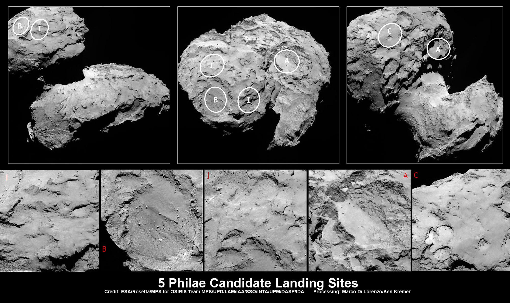 philae comet lander - photo #15