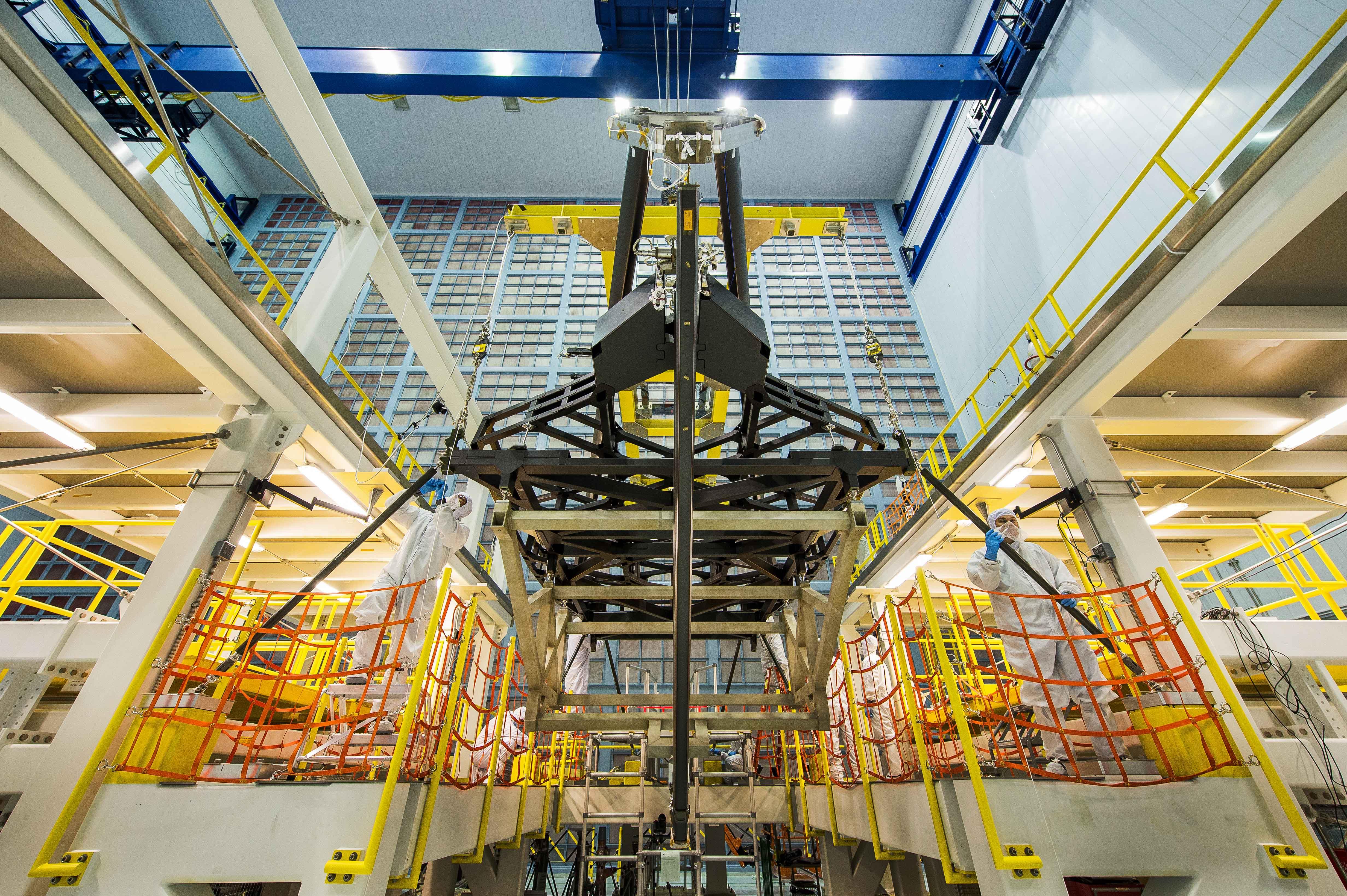 James Webb Space Telescope S Pathfinder Mirror Backplane