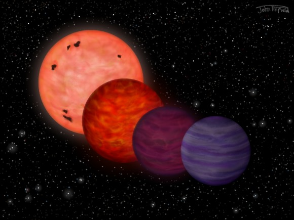 How WISE 70304-2705 could have evolved from a star to a &qu
