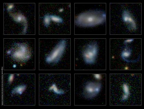Lazy Giant Galaxies Gain Mass By Ingesting Smaller Neighbors